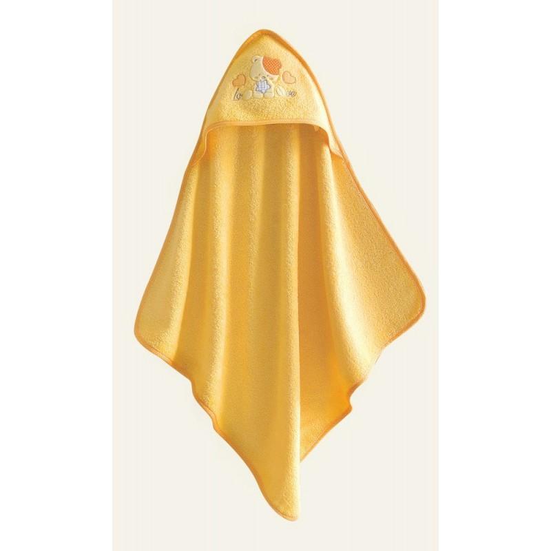 Βρεφική Κάπα Rythmos Love Love Yellow