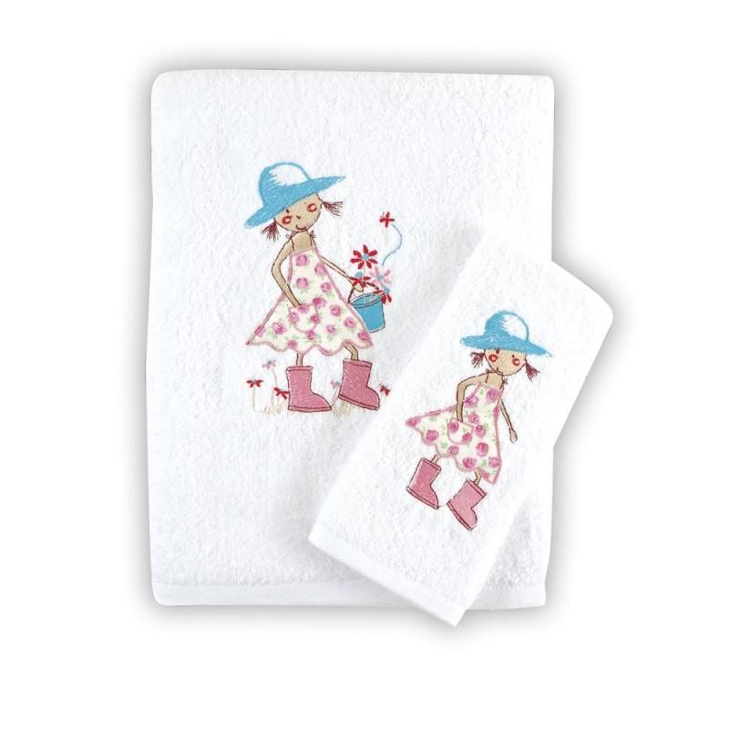 Βρεφικές Πετσέτες Rythmos Florenta Pink