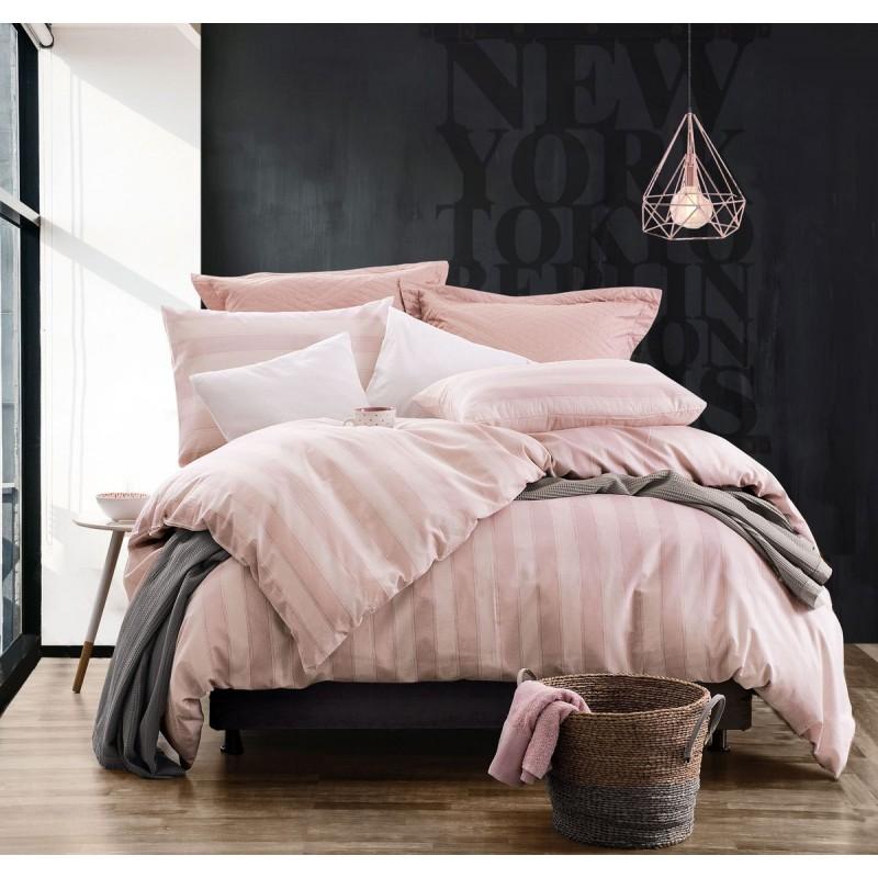 Σεντόνια Σετ Μονά Rythmos Diva Locust Pink