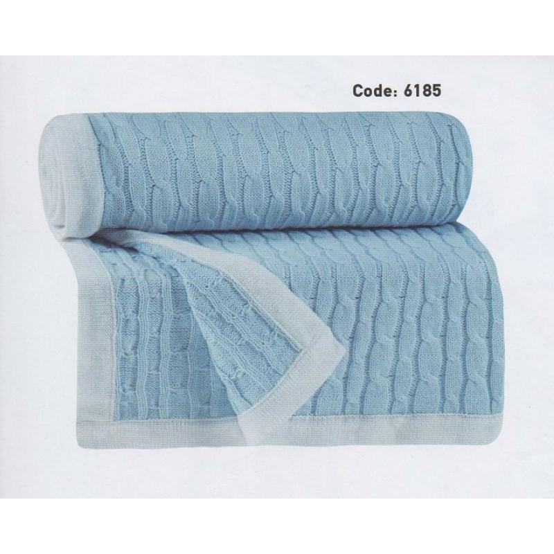 Κουβέρτα αγκαλιάς πλεχτή Das home 6185